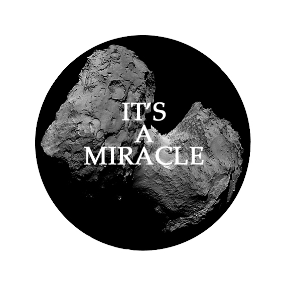 IT'S A MIRACLE BADGE copy